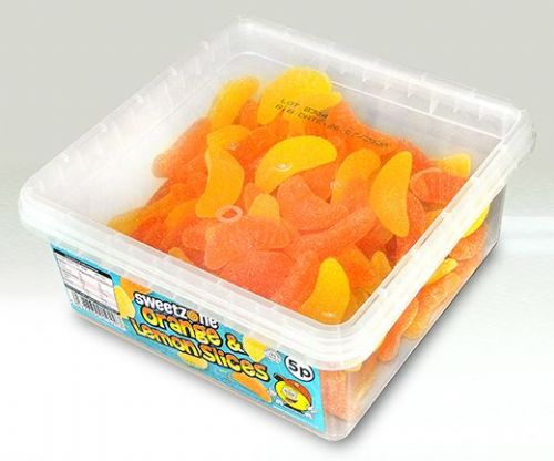 SZ30 SWEETZONE ORANGE &  LEMON SLICES 120x5p